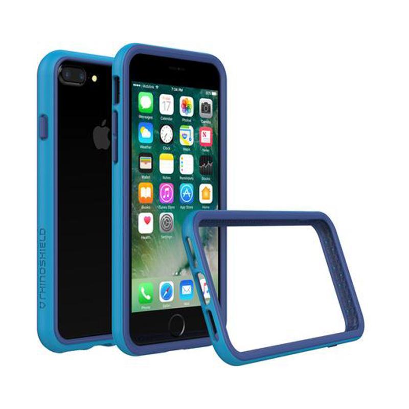 犀牛盾 iPhone 7 Plus防摔邊框殼 藍