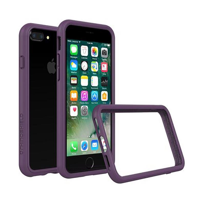 犀牛盾 iPhone 7 Plus防摔邊框殼 紫
