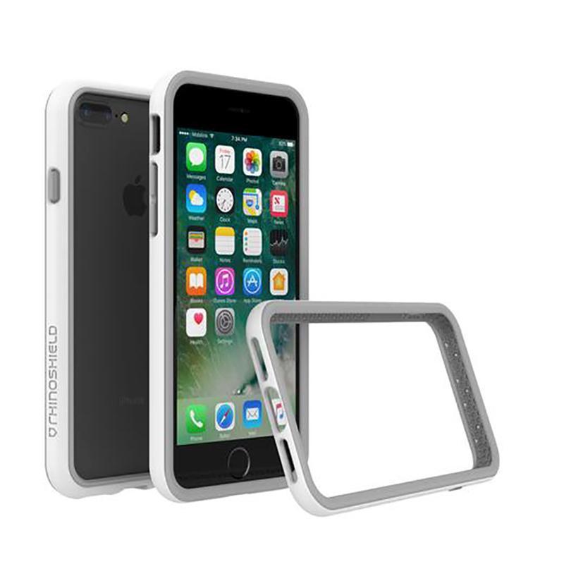 犀牛盾 iPhone 7 Plus防摔邊框殼 白