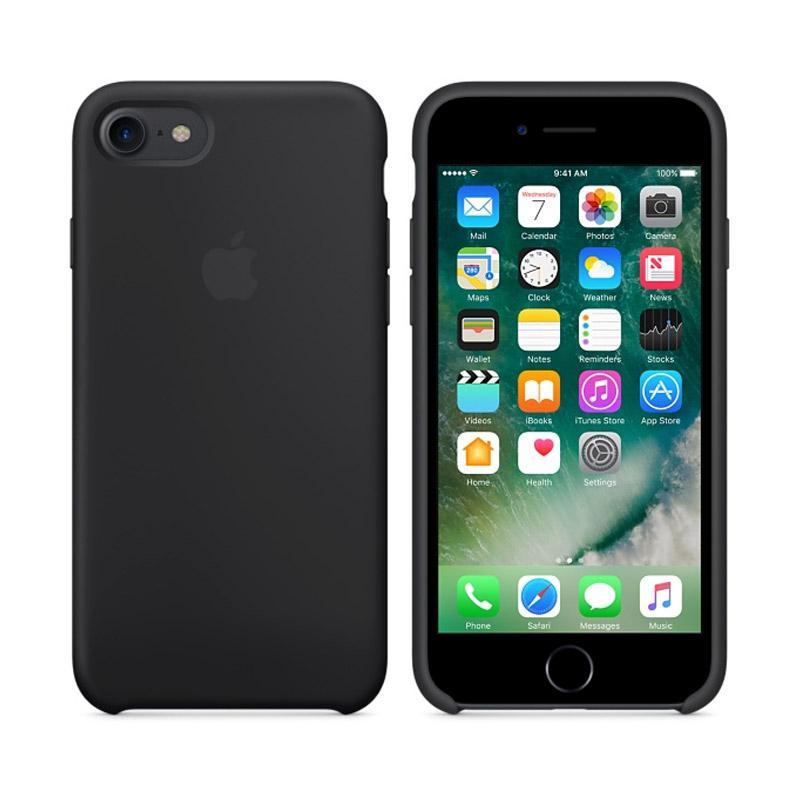 Apple原廠矽膠護套 黑 iPhone 7 Plus