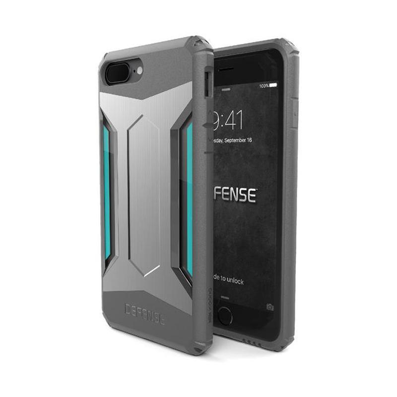 X-doria 刀鋒戰士系列背蓋 iPhone7 Plus 銀