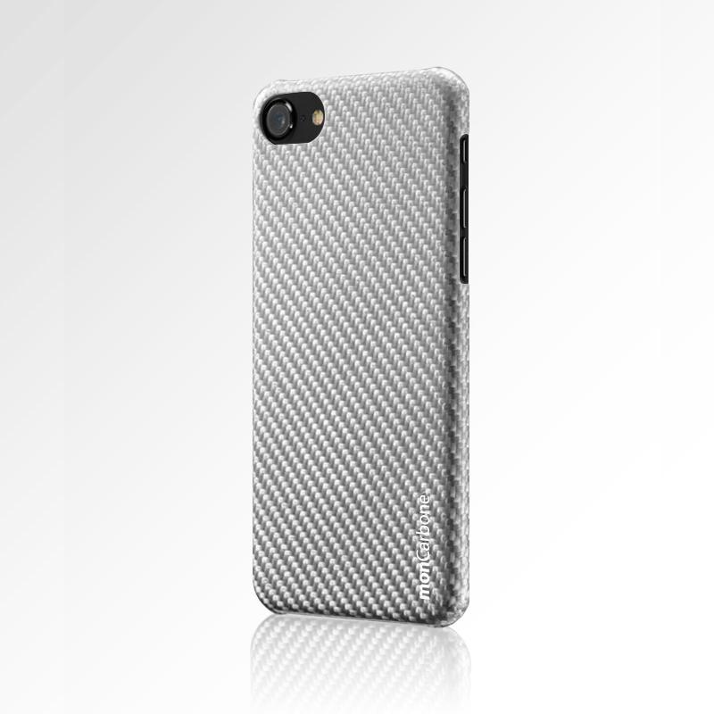 HOVERKOAT iPhone 7 Plus / iPhone 8 Plus 碳纖維保護殼 都會銀