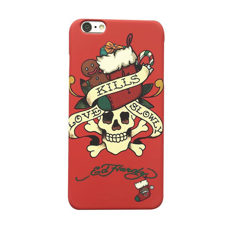 ED HARDY iPhone7 手機殼-聖誕骷髏
