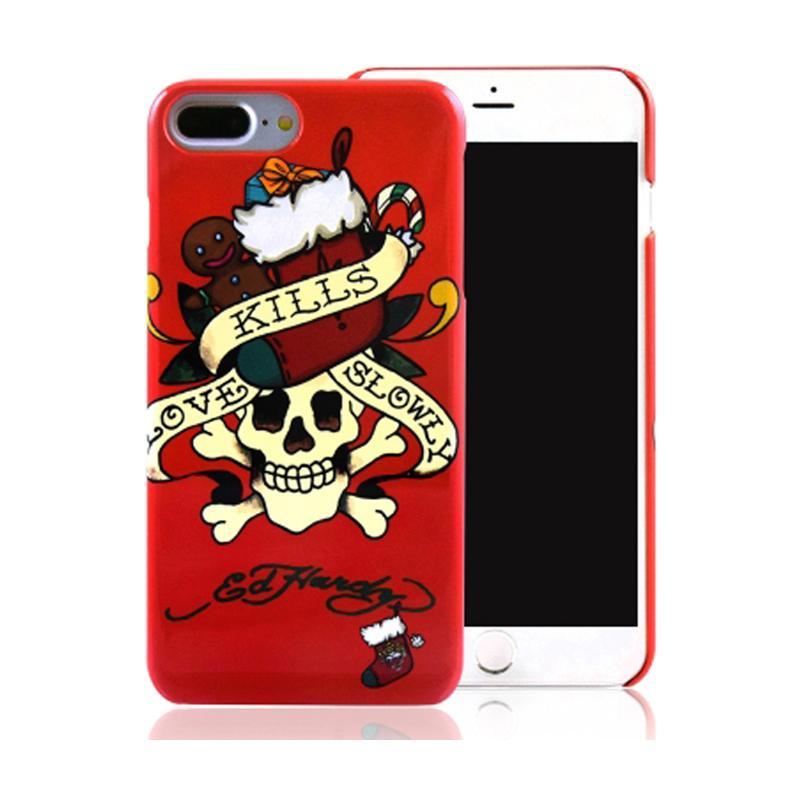ED HARDY iPhone7 Plus 手機殼- 聖誕骷髏