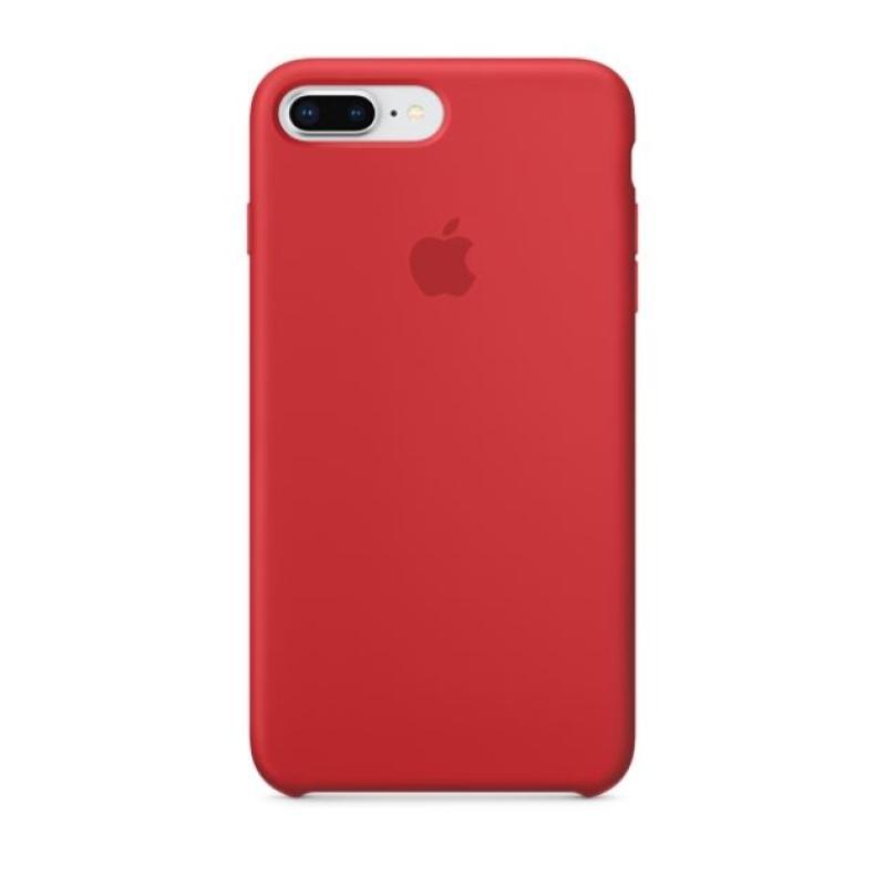 APPLE原廠 iPhone8 Plus/7Plus 矽膠護套 紅
