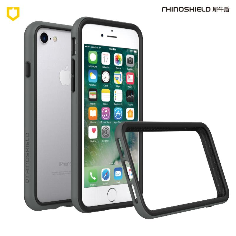犀牛盾iPhone8 Plus/iPhone7 Plus防摔邊框殼 深灰