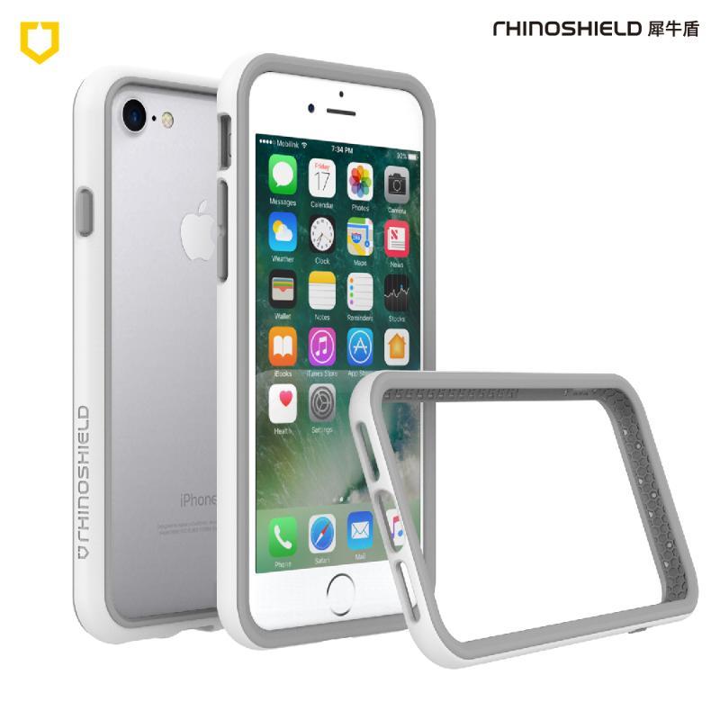 犀牛盾iPhone8 Plus/iPhone7 Plus防摔邊框殼 白