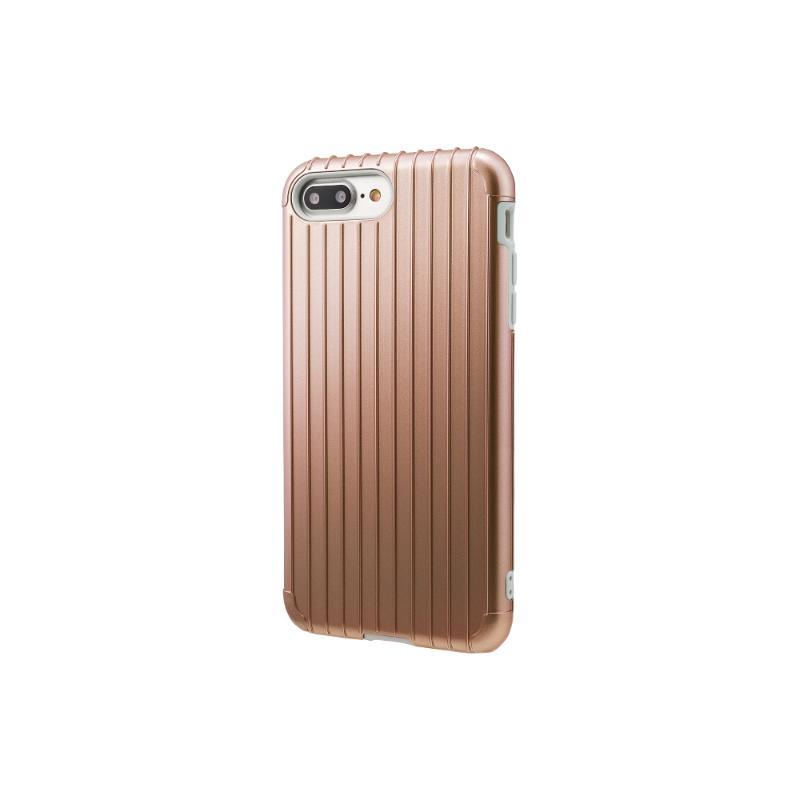 Gramas iPhone 8Plus/7Plus 經典手機殼 Rib 玫瑰金