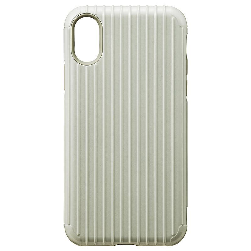 Gramas iPhoneX  經典手機殼 Rib 白