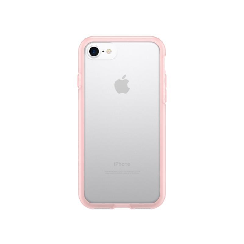 犀牛盾iPhone8/iPhone7 PlayProof防摔背蓋手機殼 透粉