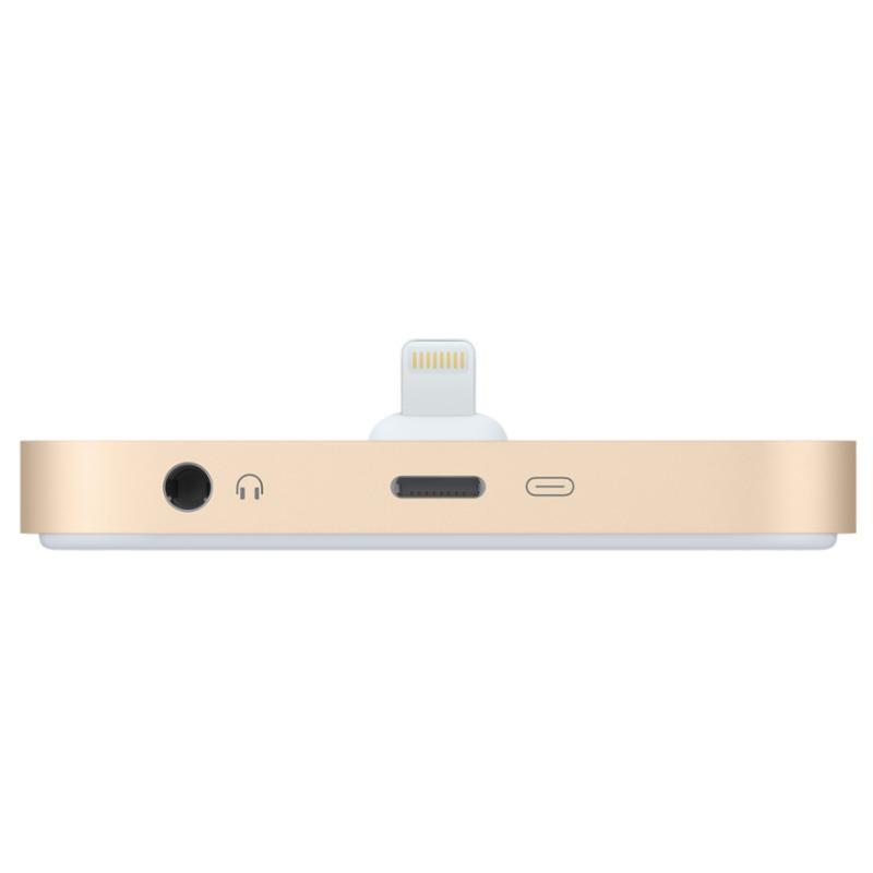 APPLE原廠 iPhone Lightning Dock - 充電座 金