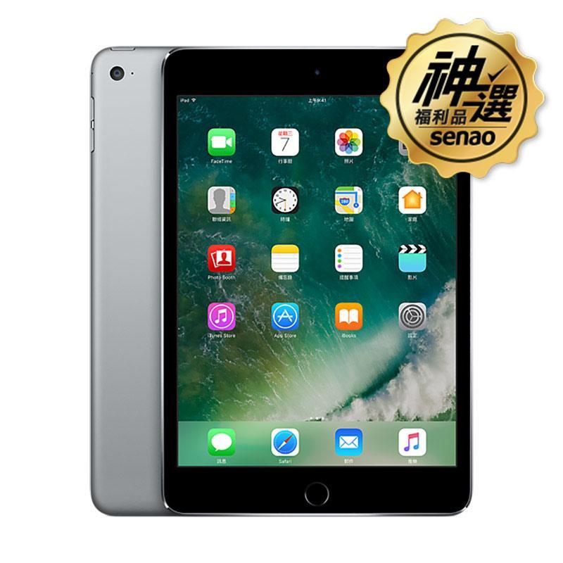 iPad mini4 WiFi 64GB 太空灰【神選福利品】