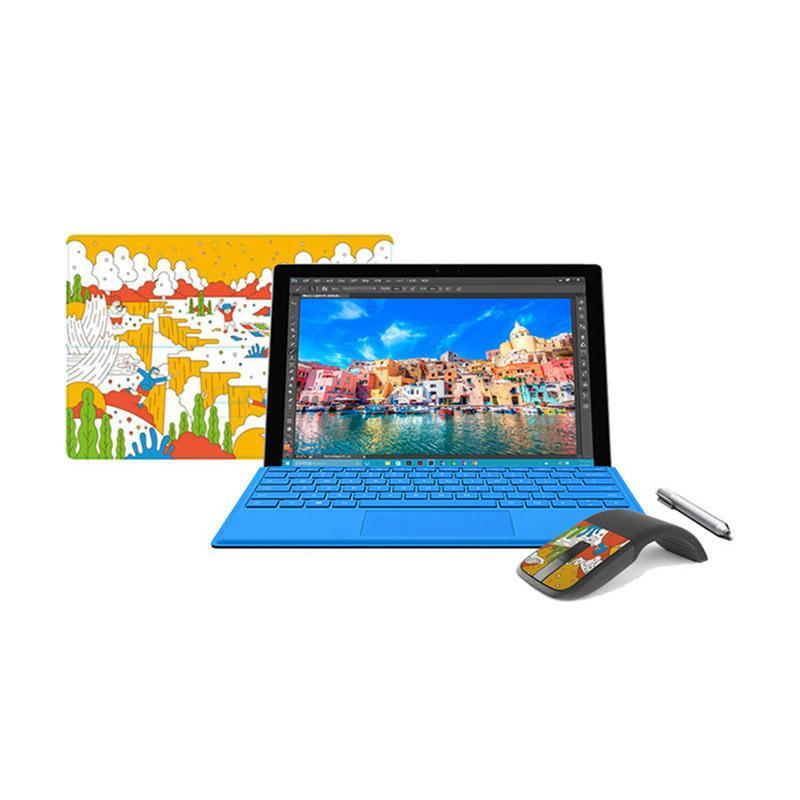 【送二好禮】Surface Pro 4 i5 4G 128G 銀 12.3吋 平版電腦 插畫家限量版