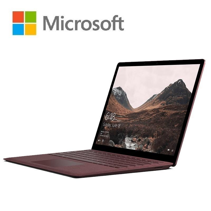 【領券享折扣】Surface Laptop i5 8G 256G 13.5吋 酒紅色(內建Windows 10s)