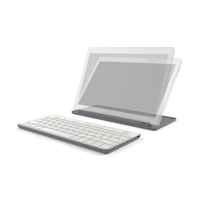 Microsoft 微軟 萬用行動鍵盤 灰 (P2Z-00026)