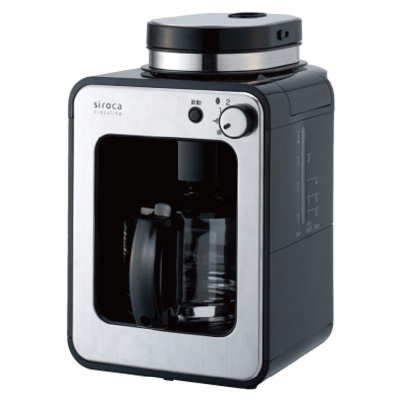 日本SIROCA 自動研磨咖啡機 SC-A1210S