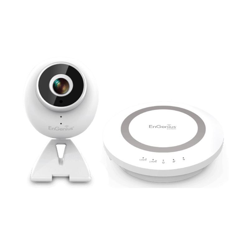 EnGenius EBK1 智能i管家(ESR600路由器+EDS1130無線攝影機)