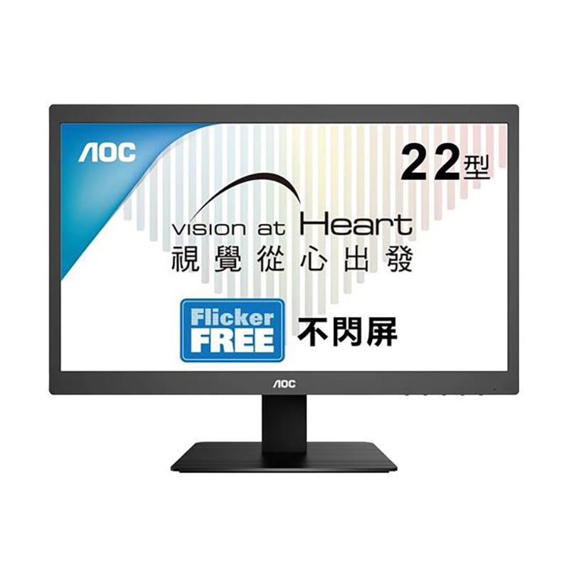 AOC E2275SWJ 22型 綠能寬螢幕