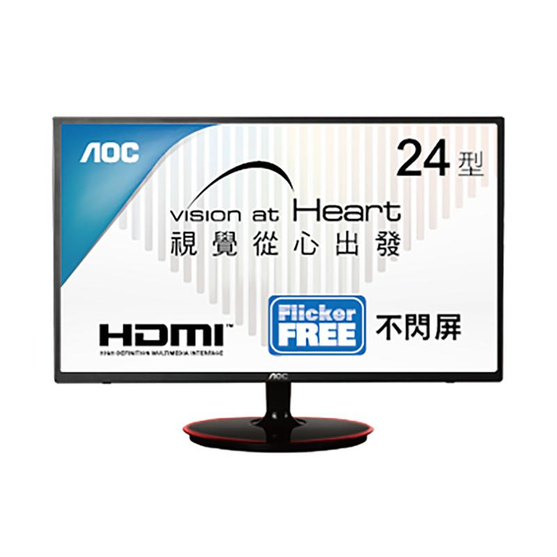 AOC M2461FWH 24型 MVA薄邊框寬螢幕