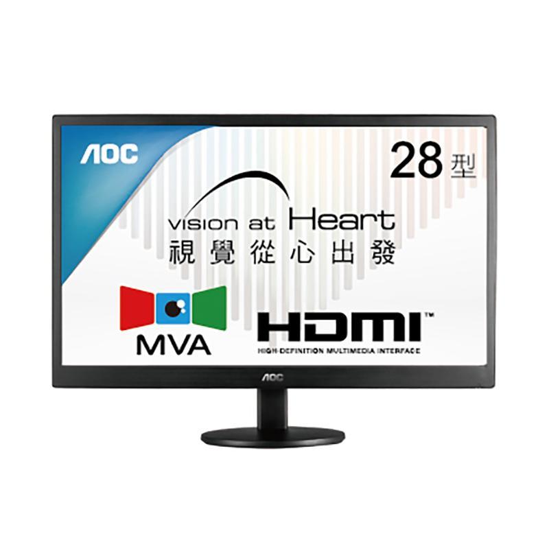 AOC M2870VQ 28型 MVA廣視角寬螢幕