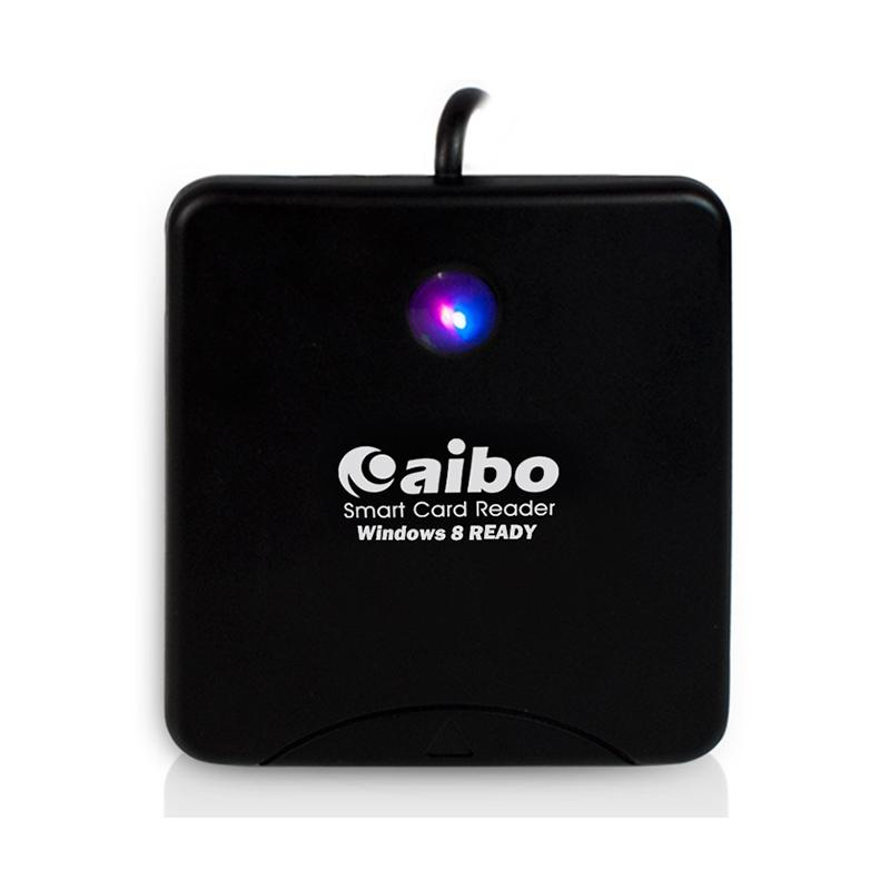 aibo AB17 餅乾ATM晶片讀卡機 黑色