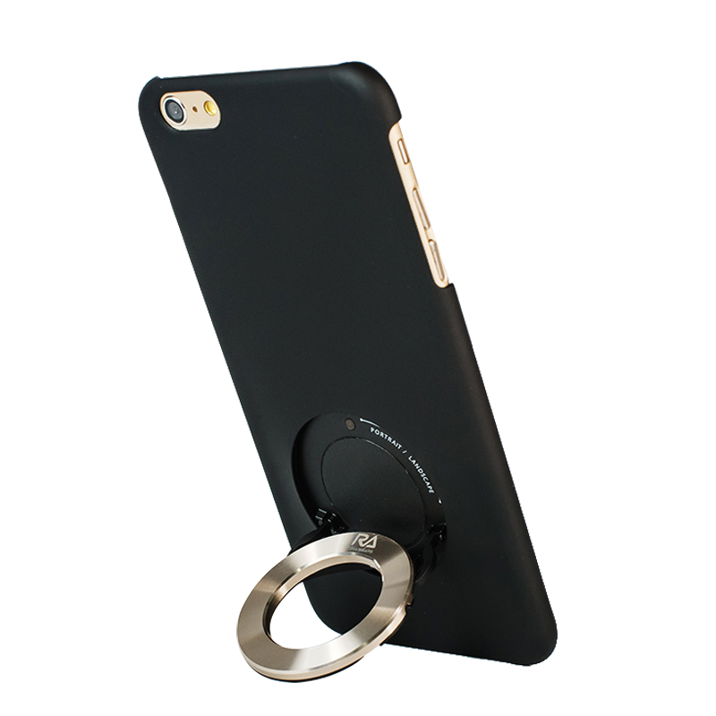 【Rolling Ave.】iCircle iphone 6/6S 手機保護殼-黑色金環
