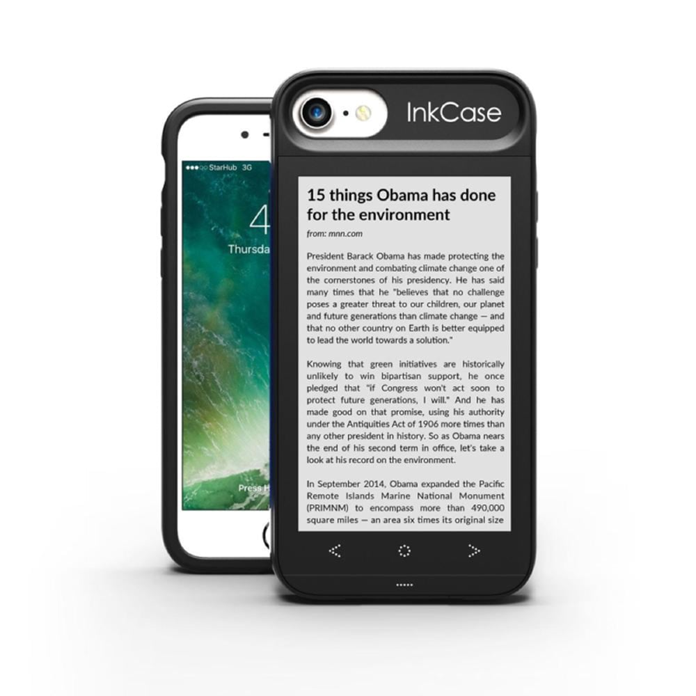 【OAXIS】Ink case 雙螢幕手機殼 for iPhone7