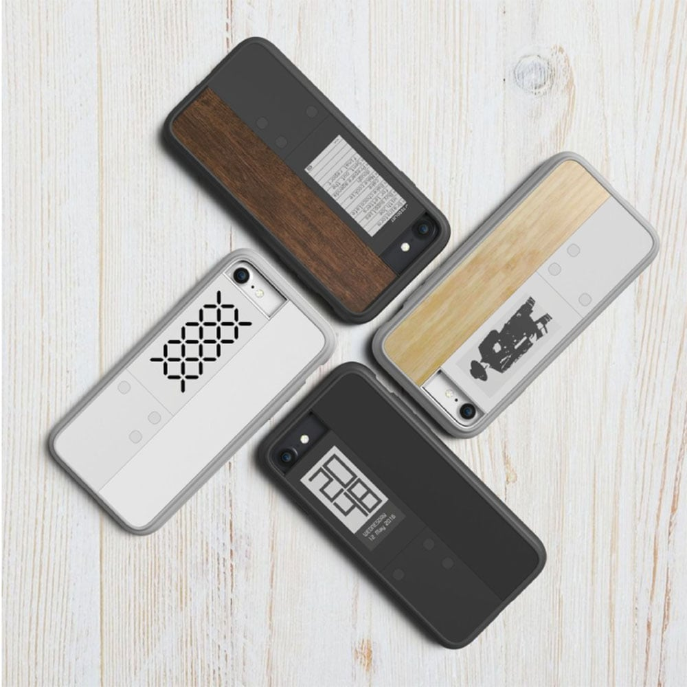【OAXIS】Ink case IVY 雙螢幕手機殼 for iPhone7 - 白色