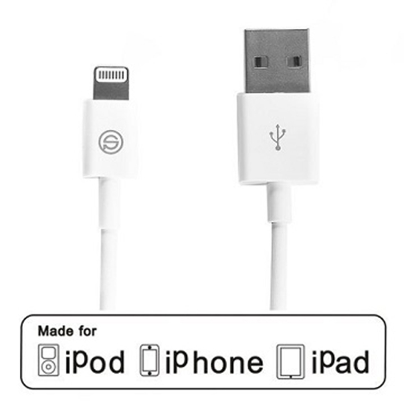 【 OPSO APPLE MFI認證】Lightning 8 Pin iPhone傳輸充電線(1M)