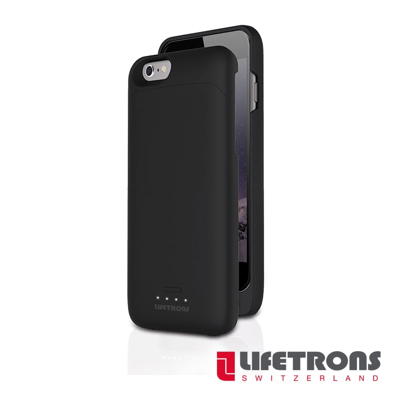 【LIFETRONS】iPhone6/6s 充電器保護殼(3,000 mAh)