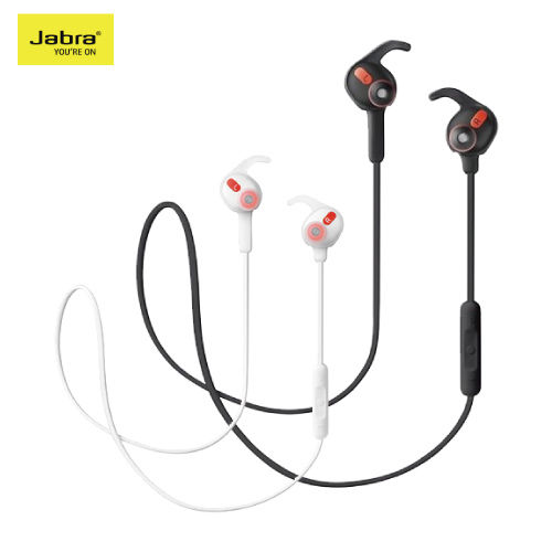 Jabra ROX Wireless 防水運動型入耳式藍芽耳機 -白色
