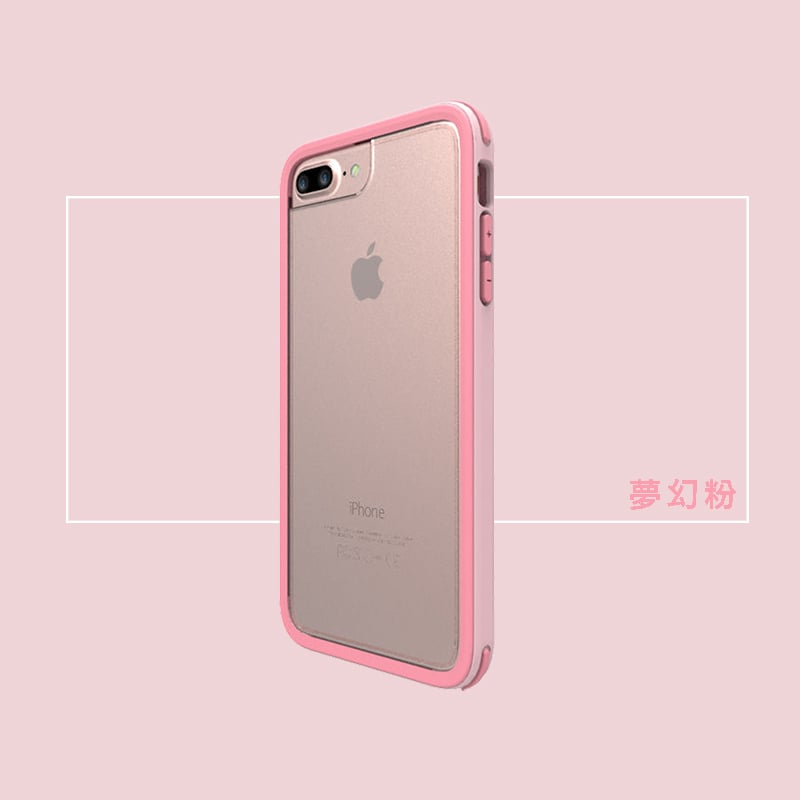 【SOLiDE】iPhone7 Plus (5.5吋) 保護殼-維納斯系列 夢幻粉