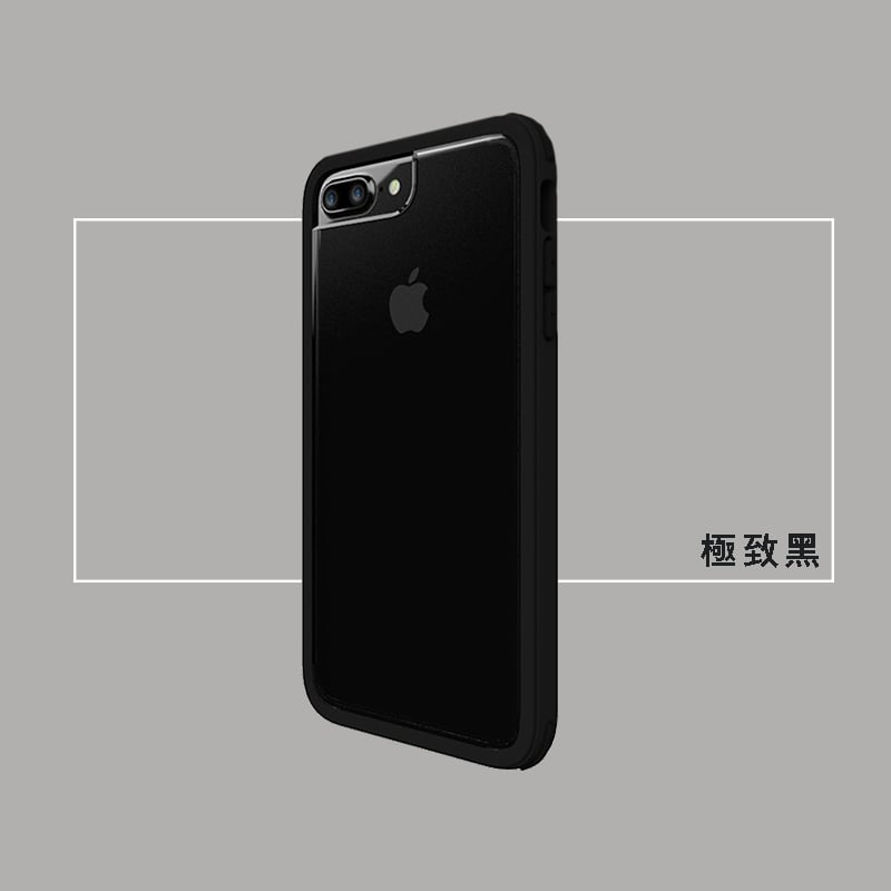 【SOLiDE】iPhone7 Plus (5.5吋) 保護殼-維納斯系列 極致黑