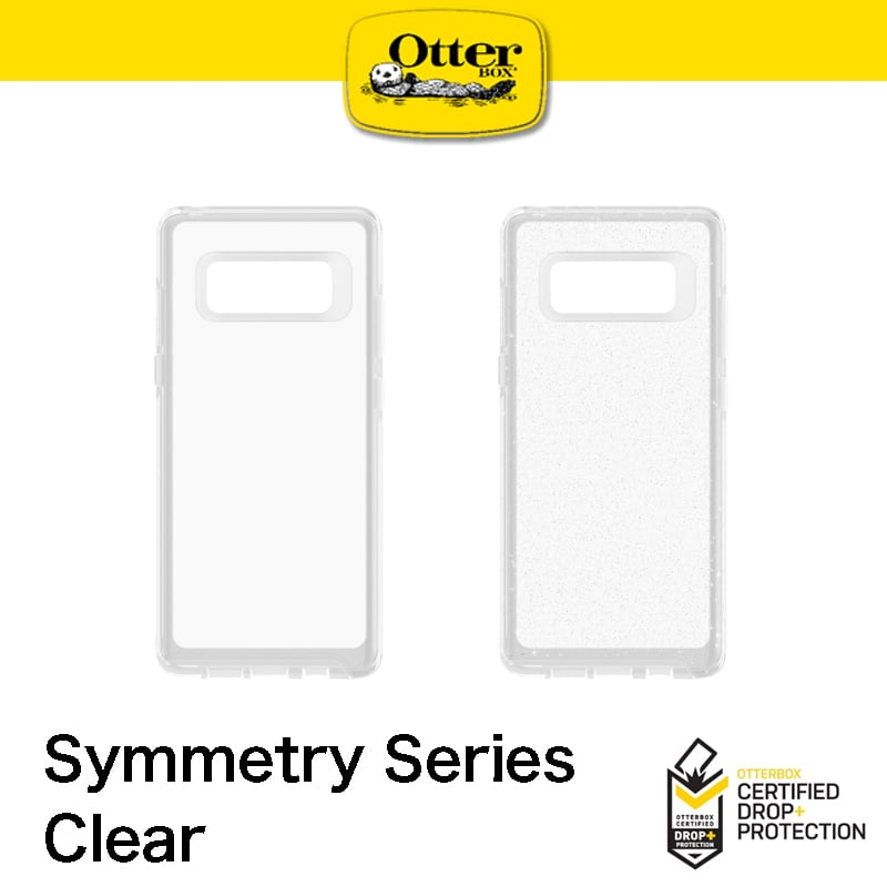 【OtterBox】Note8 Symmetry Clear 炫彩幾何透明系列 防撞保護殼 透明