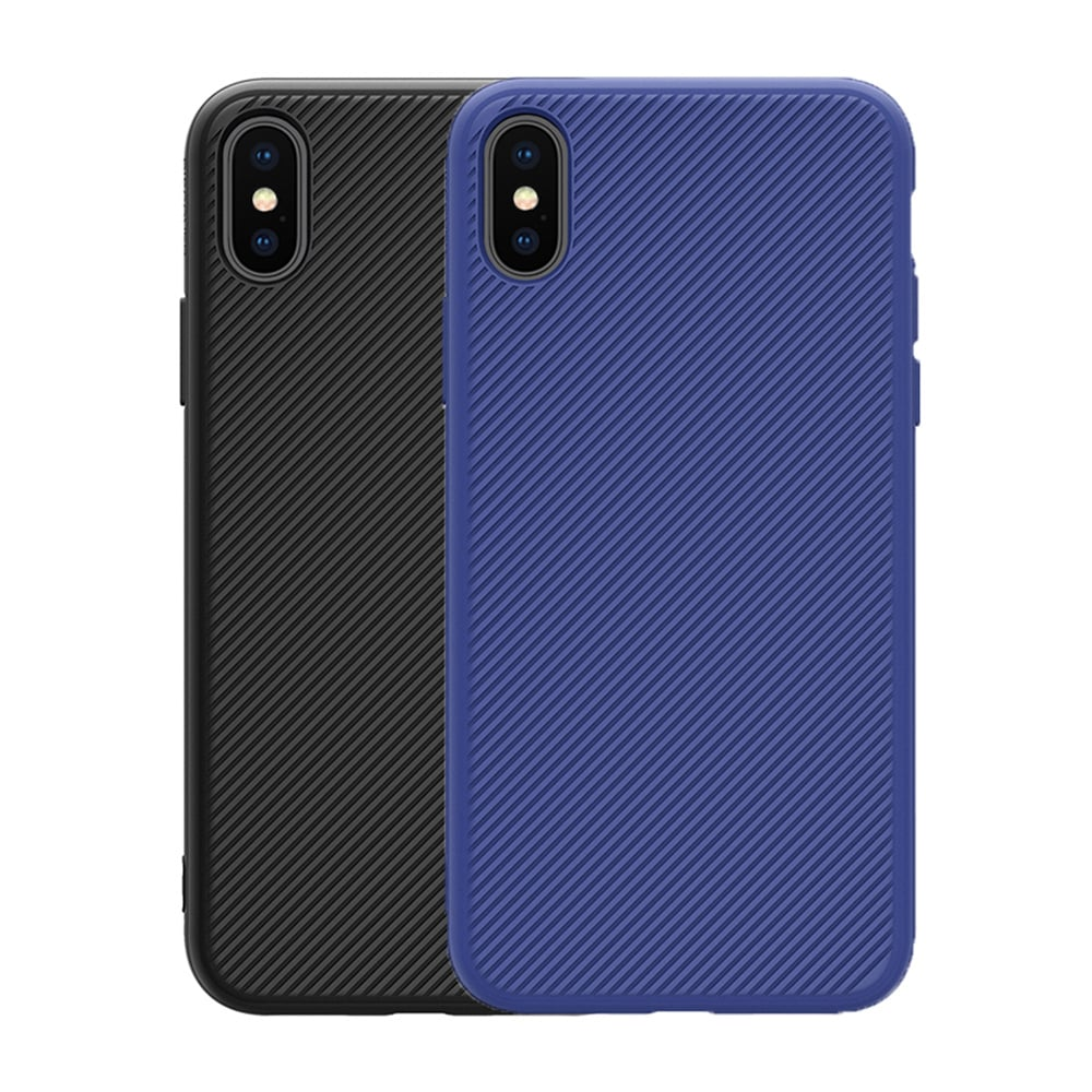 NILLKIN Apple iPhone X 逸盾保護殼(藍色)